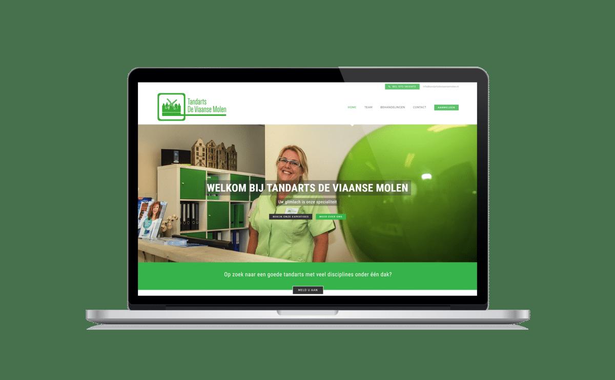 nh websites maakt de nieuwe tandartsdeviaansemolen.nl