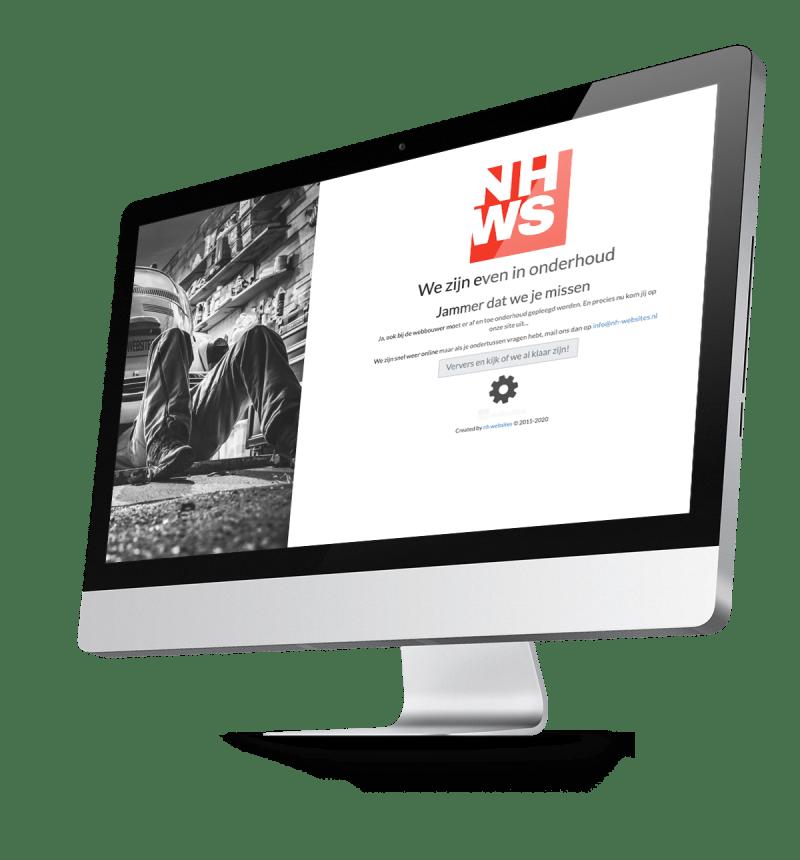 Uw WordPress in onderhoud? NHWS natuurlijk!